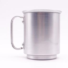 Caneca Alumínio Para Sublimação 400ml - 10 Unidades Brilho