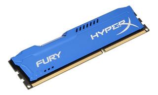 Memoria Ram Ddr3 4gb 1333mhz Kingston Hyper Fury Blue Pc