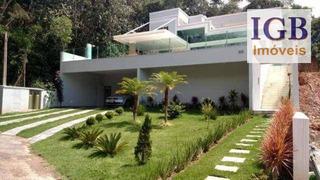 Casa Com 6 Dormitórios À Venda, 500 M² Por R$ 1.889.000,00 - Fazenda Velha - Cajamar/sp - Ca0747