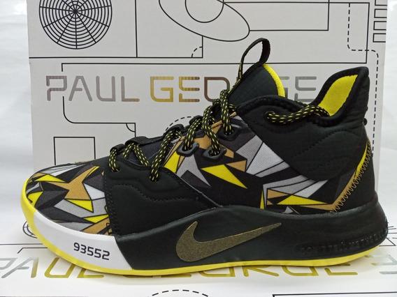 Tenis De Basquetbol Nike Paul George 3 Kobe Mamba Mentality