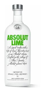 Vodka Absolut Lime Botella De Litro Envio Gratis Oferta