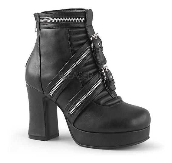 Zapatos Dark Alternativo Rock Punk Demonia Gothika 50