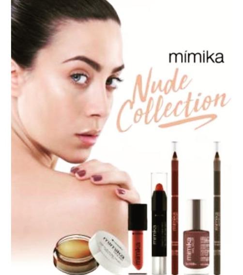 Labial Nude Beige Volume Tecno Lip Treatment Lidherma Mimika