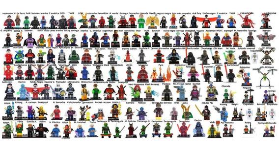 10 Bonecos Lego Compatível Disney Wood Jessie Toy Story Bob