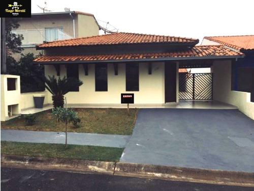Excelente Casa Em Condomínio À Venda No Vivenda Do Parque Boituva - Ca00347 - 68450740