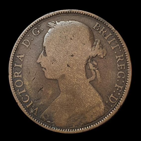Ch C / Reino Unido, Victoria - 1 Penny 1888 Km 755 Cobre