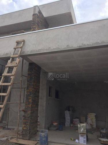 Imagem 1 de 2 de Casa Com 3 Dormitórios À Venda, 250 M² Por R$ 1.350.000 - Condomínio Vilage La Montagne - São José Do Rio Preto/sp - Ca2723