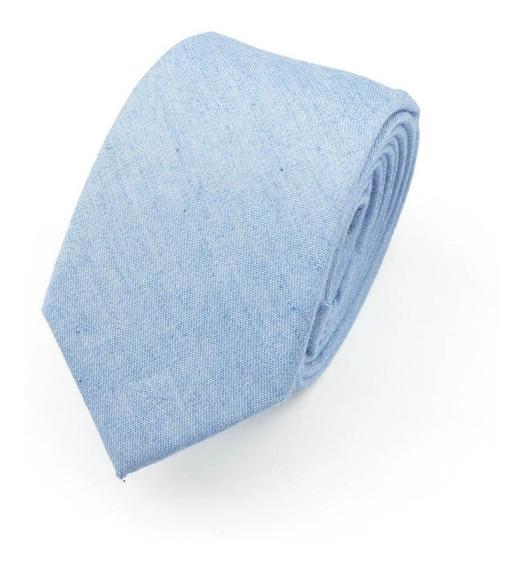 Corbata De Mezclilla De Algodón