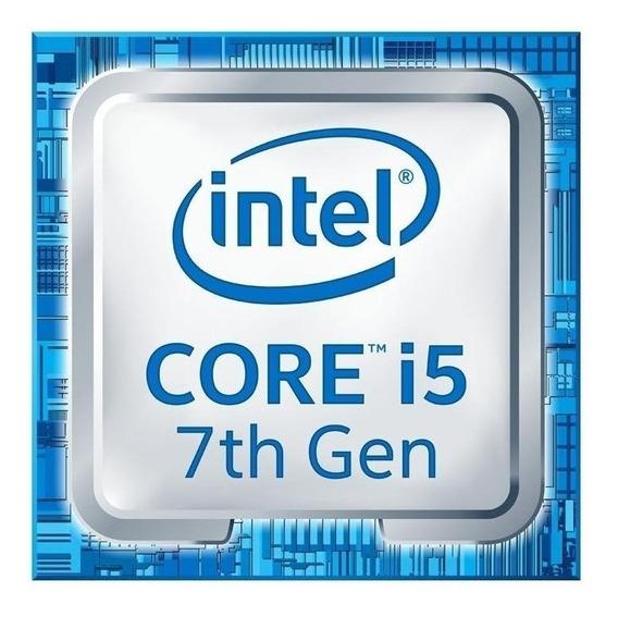 Processador gamer Intel Core i5-7400 BX80677I57400 de 4 núcleos e 3.5GHz de frequência com gráfica integrada