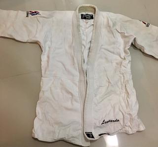 Kimono Seishin Trançado Duplo Judo Ou Jiu-jítsu