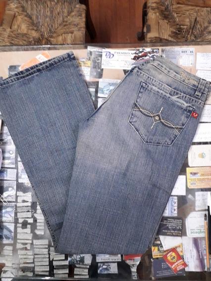 Jeans Óxido Dama Talle 30 Vov