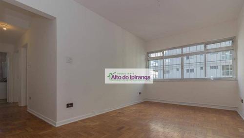 Apartamento Com 2 Dormitórios À Venda, 74 M² Vila Mariana - São Paulo/sp - Ap4327