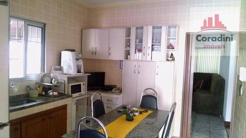 Imagem 1 de 20 de Casa Com 2 Dormitórios À Venda, 165 M² Por R$ 450.000 - Jardim Santa Rosa - Nova Odessa/sp - Ca1104