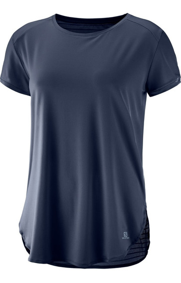 Remera Mujer - Salomon - Comet Breeze Ss Tee - Casual