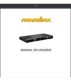 Manual Em Português Panamax Mr4300
