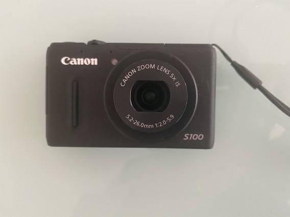 Canon Powershot S100 Com Gps Câmera Digital