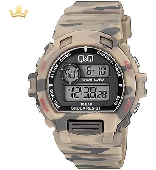 Relógio Q&q By Japan Masculino M153j010y Com Nf