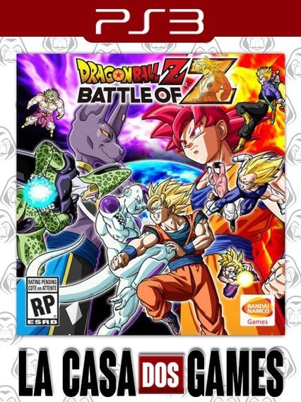 Dragon Ballz: Battle Of Z - Psn Ps3 - Envio Imediato