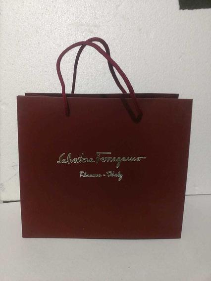 3 Shoping Bag Ferragamo , (bolsa Para Regalo)