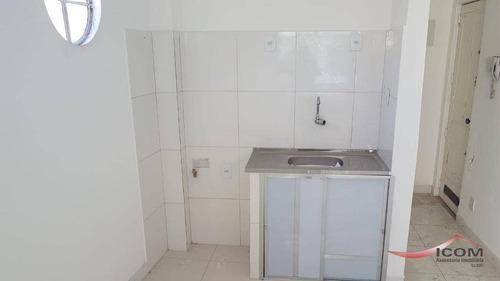 Kitnet À Venda, 26 M² Por R$ 200.000,00 - Centro - Rio De Janeiro/rj - Kn0221