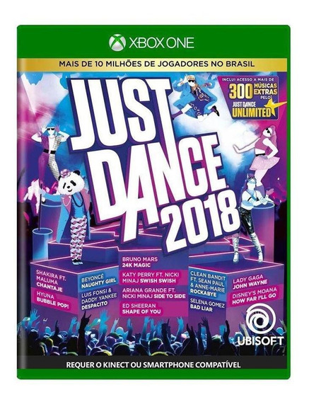 Just Dance 2018 Xbox One Mídia Física Pronta Entrega