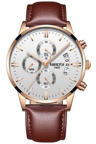 Relógio Nibosi Blindado Resistente A Água Original -promoção