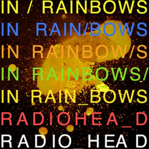 Lp Radiohead In Rainbows 180g