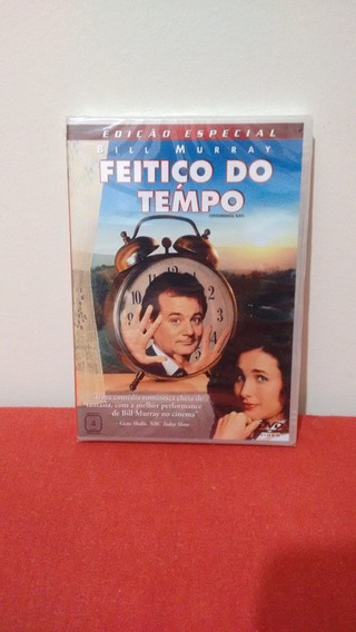 Feitiço Do Tempo - Bill Murray - Dvd Original Lacrado