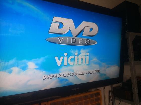 Dvd Player Vicini Vc-916 Funcionando Sem Controle Remoto
