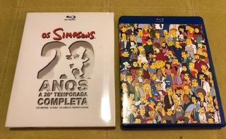 20ª Temporada Os Simpsons | Blu-ray - Edição De Colecionador