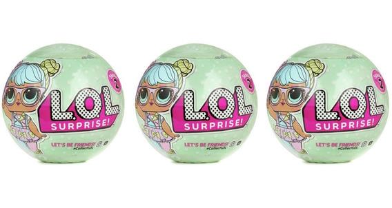 3 Boneca Lil Ou Lol Surprise Doll Unidades Sortida Surpresa