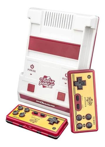 Imagen 1 de 2 de Consola Retro Game Classic 8GB  color blanco y rojo