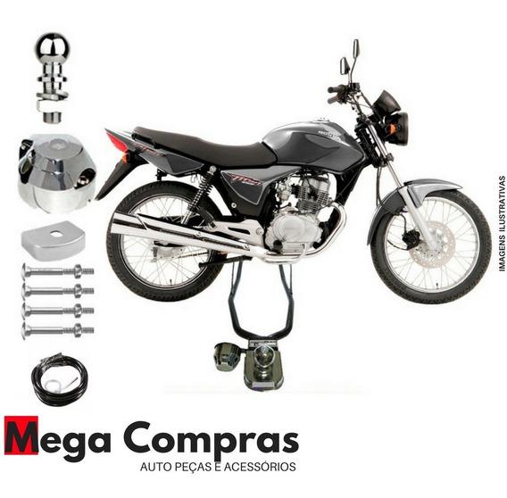 Engate Reboque Rabicho Moto Honda Cg Titan Fan 125 150 160