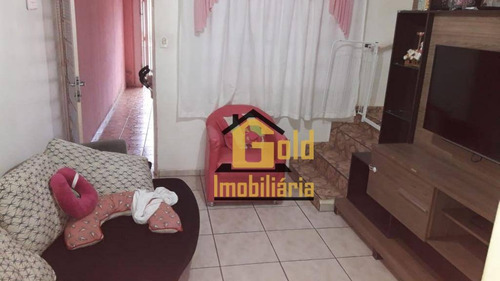 Casa Com 2 Dormitórios À Venda, 92 M² Por R$ 200.000 - Jardim José Sampaio Júnior - Ribeirão Preto/sp - Ca0553