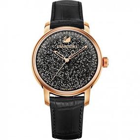 c8e9437a7605 Reloj Swarovski Modelo Crystalline Hours Negro