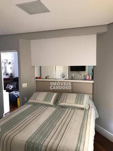 Imagem 1 de 25 de Apartamento Com 1 Dormitório À Venda, 45 M² Por R$ 700.000,00 - Pinheiros - São Paulo/sp - Ap0407