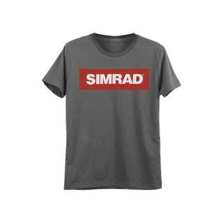Plasimxl Playera Gris Talla Extra Grande Con Logo De Simrad.