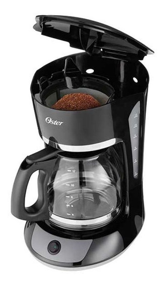Cafetera Oster 4 Tazas Negra