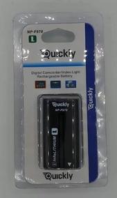 Bateria Para Filmadora E Iluminador Led Quickly Np-f970