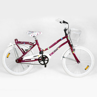 Bicicleta Peretti Rod20 Playera Dama Completa Rosa