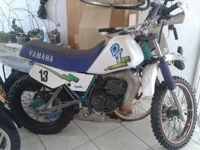 Moto Dt180 1991 Preparada Trilha Com Acessórios De Segurança