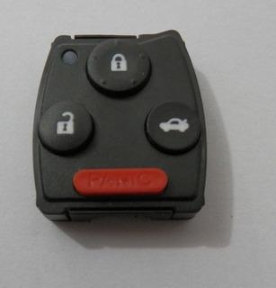 Capa E Contra Capa Controle Alarme Honda Civic 3 Bt + Pânico