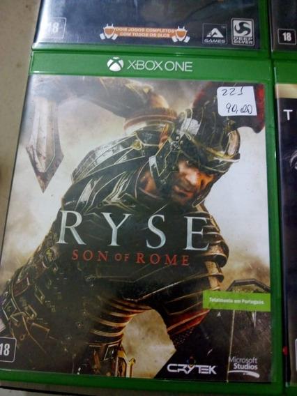 Ryse Son Of Rome Xbox One Mídia Física