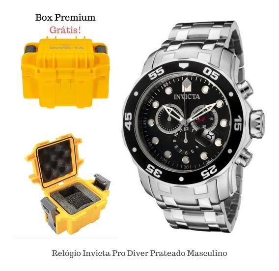 Relógio Invicta Pro Diver 21920 Com Box Colecionador