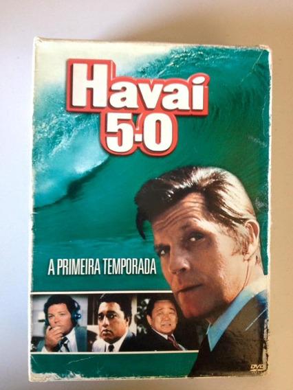 Havaí 5.0 Primeira Temporada Dvd (7 Discos) Jack Lord