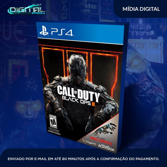 Call Of Duty Black Ops Iii Ps4 Game Digital Envio Agora.