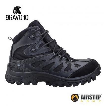 Bota Airstep Hiking Boot -bravo 10 Black 5700-1