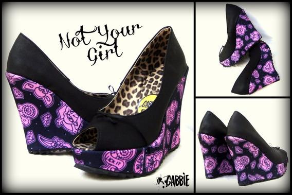 Zapatos Plataformas Not Your Girl X Gabbie!