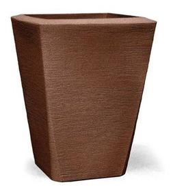 Vaso Polietileno Grande Moderno 50x37 Para Plantas