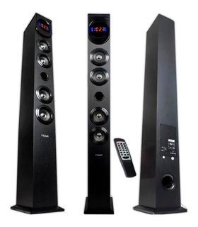 Parlante Noga Ngs-x1 Bluetooth Sd Usb Fm 60w Led C/remoto